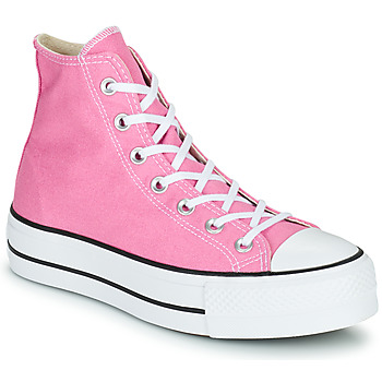 Chaussures Femme Baskets montantes Converse CHUCK TAYLOR ALL STAR LIFT SEASONAL COLOR HI Rose