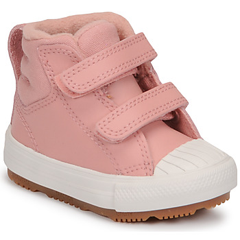 Chaussures Fille Baskets montantes Converse CHUCK TAYLOR ALL STAR BERKSHIRE BOOT SEASONAL LEATHER HI Rose