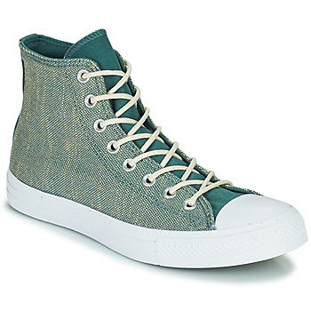 Chaussures Homme Baskets montantes Converse CHUCK TAYLOR ALL STAR SURFACE FUSION HI Vert