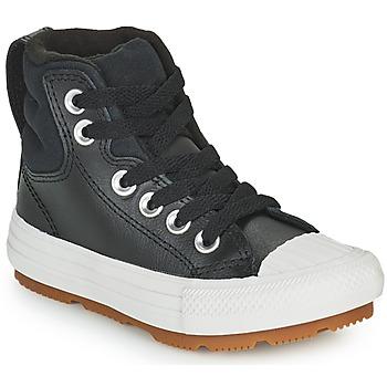 Chaussures Enfant Baskets montantes Converse CHUCK TAYLOR ALL STAR BERKSHIRE BOOT SEASONAL LEATHER HI Noir
