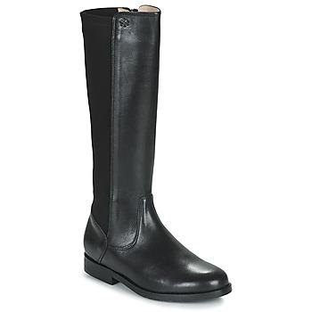 Chaussures Fille Bottes ville Acebo's 9905PE-NEGRO-T Noir