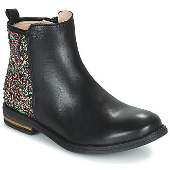Chaussures Fille Boots Acebo's 9917VE-NEGRO-T Noir