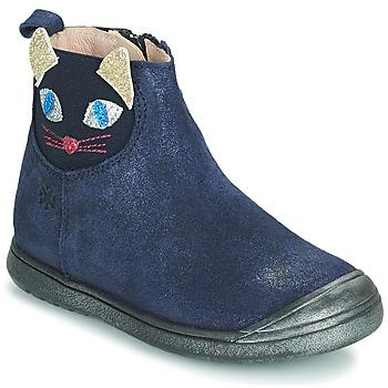 Chaussures Fille Boots Acebo's 3159SU-MARINO Marine