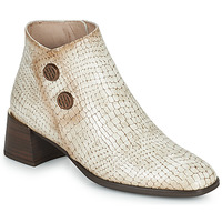 Chaussures Femme Bottines Hispanitas ALEXA Ecru