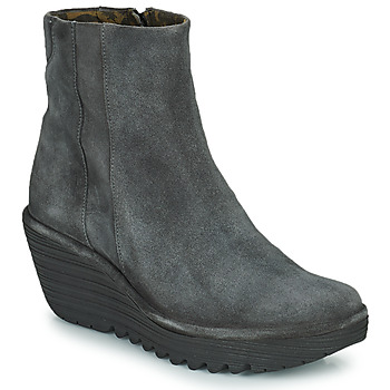 Chaussures Femme Bottines Fly London YULU Gris