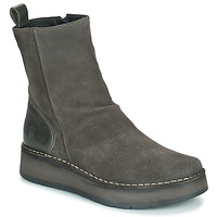 Chaussures Femme Boots Fly London RENO Gris