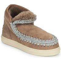 Chaussures Femme Boots Mou ESKIMO SNEAKER Marron