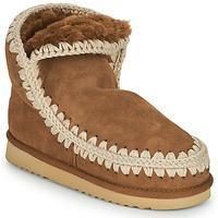 Chaussures Femme Boots Mou ESKIMO 18 Marron