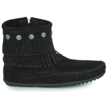 Boots Minnetonka DOUBLE FRINGE SIDE ZIP BOOT
