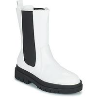 Chaussures Femme Boots Moony Mood PAULA Blanc