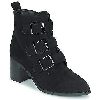 Chaussures Femme Bottines Moony Mood PAOLA Noir