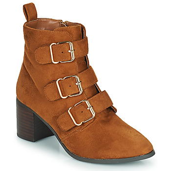 Chaussures Femme Bottes ville Moony Mood PAOLA Camel