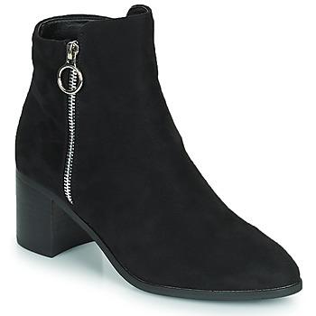 Chaussures Femme Bottes ville Moony Mood PETROLIA Noir