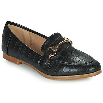 Chaussures Femme Mocassins Moony Mood PRIVA Noir
