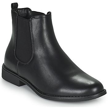 Chaussures Femme Boots Moony Mood PIRYL Noir