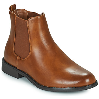 Chaussures Femme Boots Moony Mood PIRYL Camel