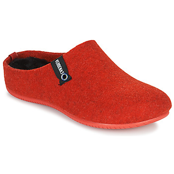 Chaussures Femme Chaussons Verbenas YORK Rouge