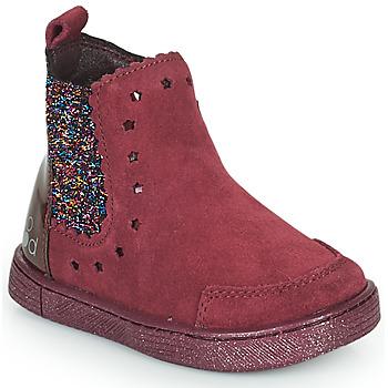 Chaussures Fille Boots Mod'8 BLANOU Bordeaux