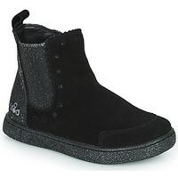 Chaussures Fille Boots Mod'8 BLANOU Noir glitter
