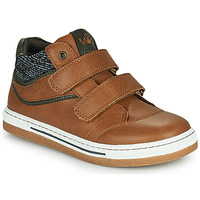 Chaussures Garçon Baskets montantes Mod'8 KYNATOL Cognac
