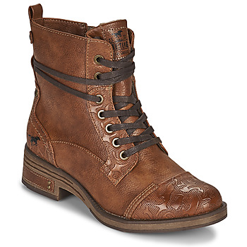 Chaussures Femme Boots Mustang 1293501 Marron
