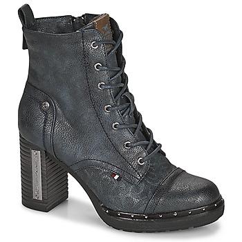 Chaussures Femme Bottines Mustang 1336502 Marine