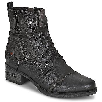 Chaussures Femme Boots Mustang 1229508 Noir