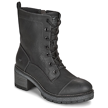 Chaussures Femme Bottines Mustang 1374601 Anthracite