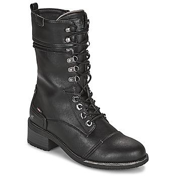 Chaussures Femme Bottes ville Mustang 1402501 Noir