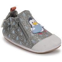 Chaussures Garçon Chaussons bébés Robeez BLUE PINGUINS Gris