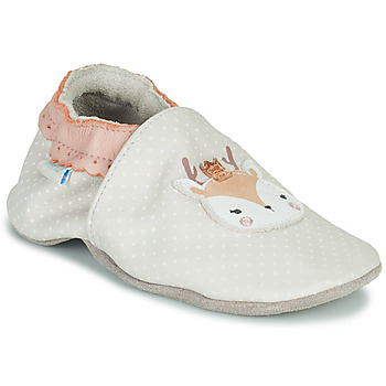 Chaussures Fille Chaussons bébés Robeez FANCY SNOW Beige