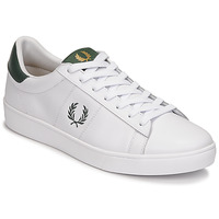 Chaussures Homme Baskets basses Fred Perry SPENCER LEATHER Blanc / Vert