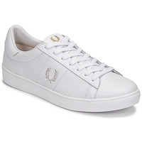 Chaussures Homme Baskets basses Fred Perry SPENCER LEATHER Blanc
