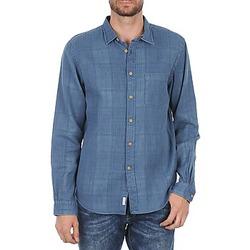Vêtements Homme Chemises manches longues Façonnable JJMCT502000ERE Bleu
