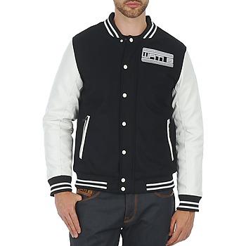 Vêtements Homme Blousons Wati B OUTERWEAR JACKET Noir/Blanc