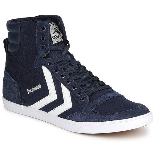 Chaussures Baskets montantes Hummel TEN STAR HIGH CANVAS Marine