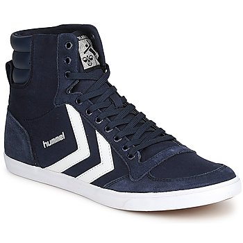 Basket montante Hummel TEN STAR HIGH CANVAS Marine