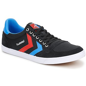Chaussures Baskets basses Hummel TEN STAR LOW CANVAS Noir
