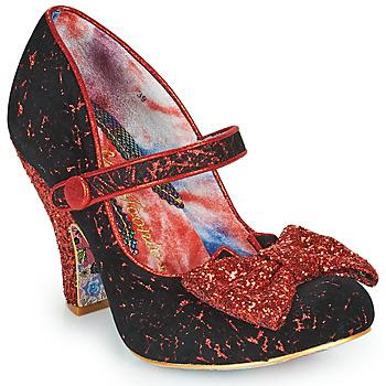 Chaussures Femme Escarpins Irregular Choice FANCY THAT Noir / Rouge