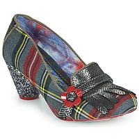 Chaussures Femme Escarpins Irregular Choice HIGHLAND HAVEN Gris / Rouge