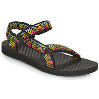 Chaussures Femme Sandales et Nu-pieds Teva ORIGINAL UNIVERSAL Noir / Multicolor