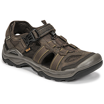 Chaussures Homme Sandales et Nu-pieds Teva M OMNIUM 2 LEATHER Marron