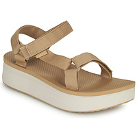 Chaussures Femme Sandales et Nu-pieds Teva FLATFORM UNIVERSAL Beige / Blanc
