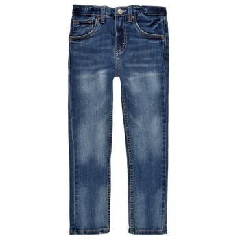 Vêtements Garçon Jeans skinny Levi's 510 SKINNY FIT EVERYDAY PERFORMANCE JEANS Bleu foncé