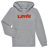 Vêtements Garçon Sweats Levi's GRAPHIC PULLOVER HOODIE Gris