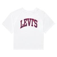 Vêtements Fille T-shirts manches courtes Levi's SSRGLANHGHRISETESHIRT Blanc