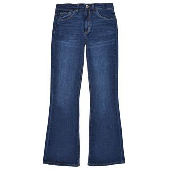 Vêtements Fille Jeans bootcut Levi's HIGHRISECROPFLARE Bleu