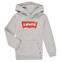 Vêtements Garçon Sweats Levi's BATWING SCREENPRINT HOODIE Gris