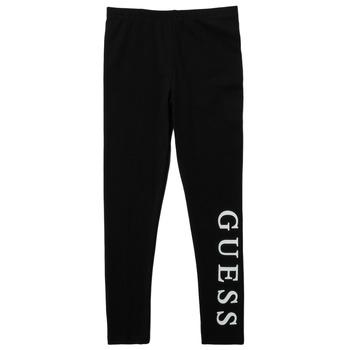 Vêtements Fille Leggings Guess PELINNA Noir