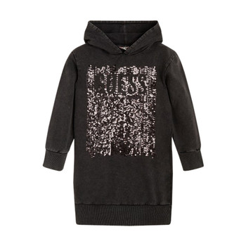 Vêtements Fille Robes courtes Guess FARRI Noir